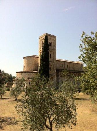 Castelnuovo dell'Abate, Italien: San Antimo Monastary