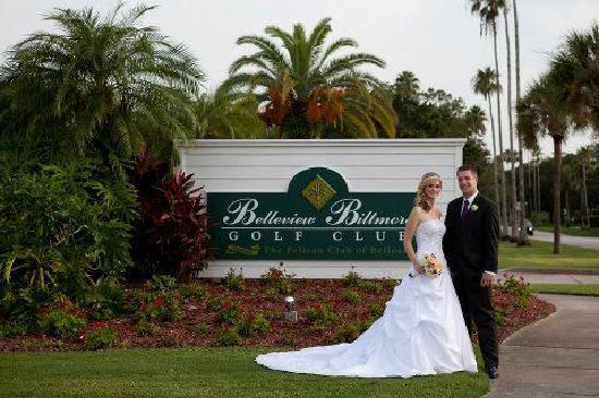 Belleview Biltmore Golf Club: Wedding welcome