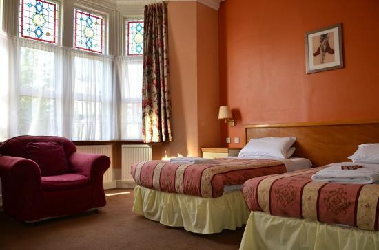 Russell Hotel: Twin Room