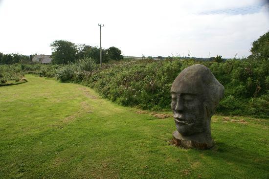 Llynnon Mill: Walk round the garden