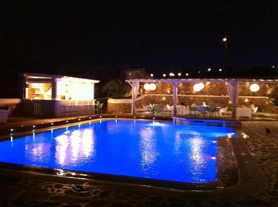 Anemoessa Boutique Hotel: Piscina e bar