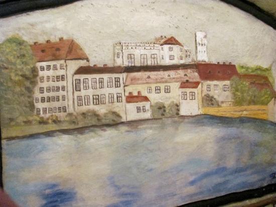 Painted cellar (Malovany sklep): detail
