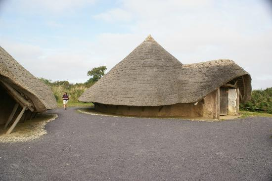 Llynnon Mill: One of the roundhouses