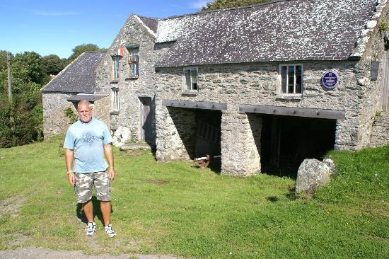 Llynnon Mill: Me by the Mill