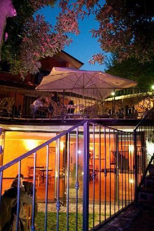 Villa Luna: sala ristorante e musica