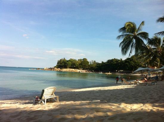 Sans Souci Samui: fine spiaggia Chaweng