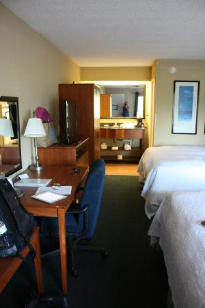 Hampton Inn Clearwater Central: Room