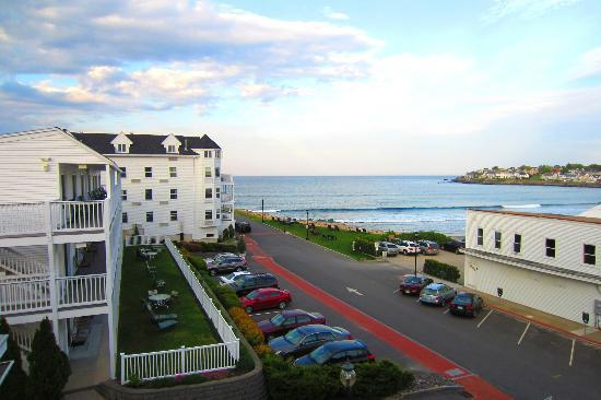 Union Bluff Hotel: View from Meeting House room balcony.