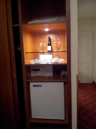 Das Opernring Hotel: Minibar / Wasserkocher