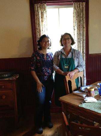 The Ira Allen House Bed and Breakfast: Maria and Me