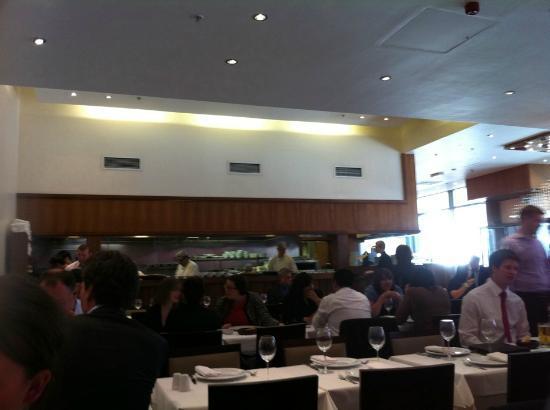 Haz Restaurant Plantation Place: The fast service kitchen