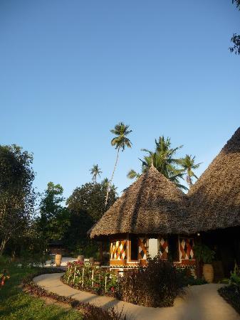 Zanzi Resort: Path to restaurant