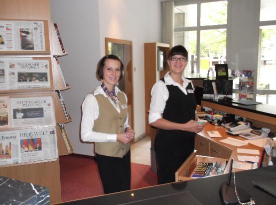 Best Western Plus Hotel Fellbach-Stuttgart: Stars of Reception