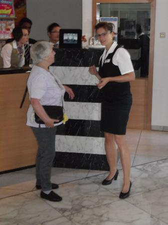 BEST WESTERN PLUS Hotel Fellbach Stuttgart: My wife & Katharina, SUPERSTAR