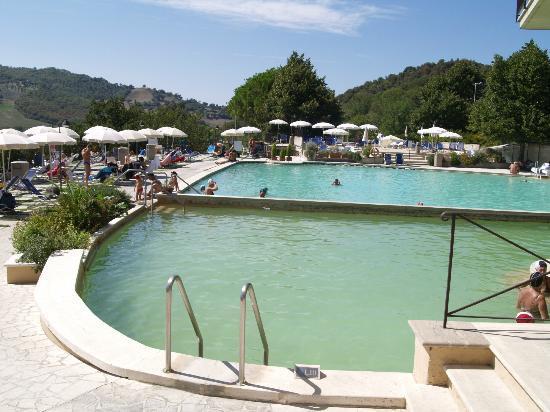 piscina termale - Picture of Albergo Posta Marcucci, Bagno Vignoni ...
