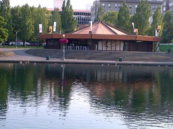Downtown Spokane: The Carousel