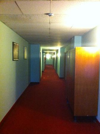 Hotel Vienna: Spacious corridor