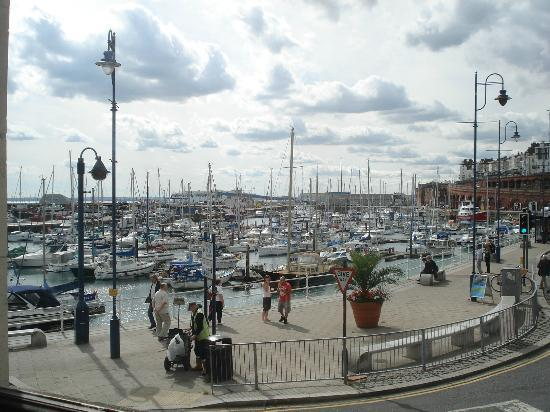 View Over Harbour Picture Of Pizza Express Ramsgate