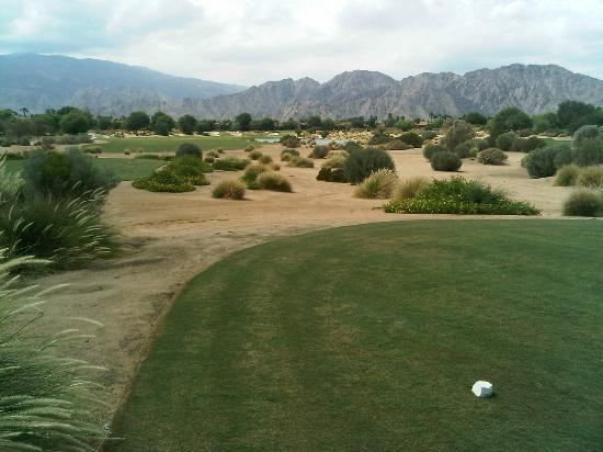 PGA West TPC Stadium Golf Course: 16th Tee at PGA West in September