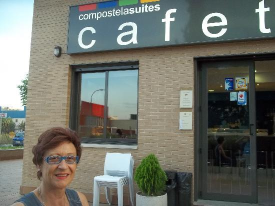 Compostela Suites Apartments : cafétaria