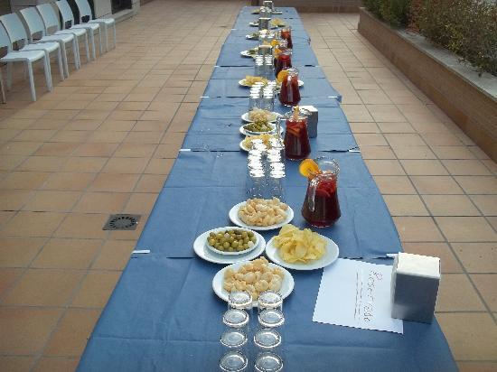 Compostela Suites Apartments: apéro pour les Marseillanais