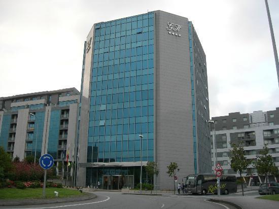GH Hotel: Facciata dell'albergo
