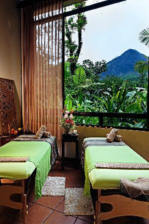 Arenal Kioro: wonderful view from spa rooms