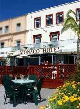 Front view of The Monaco
