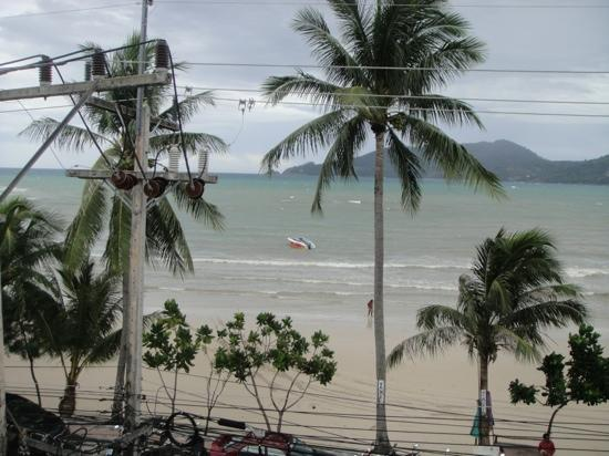 Baan Boa Resort: patong beach from balcony