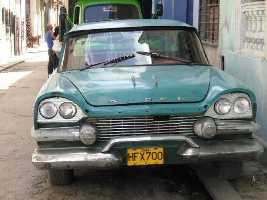 IBEROSTAR Laguna Azul: One of the magical cars like you see in movies..