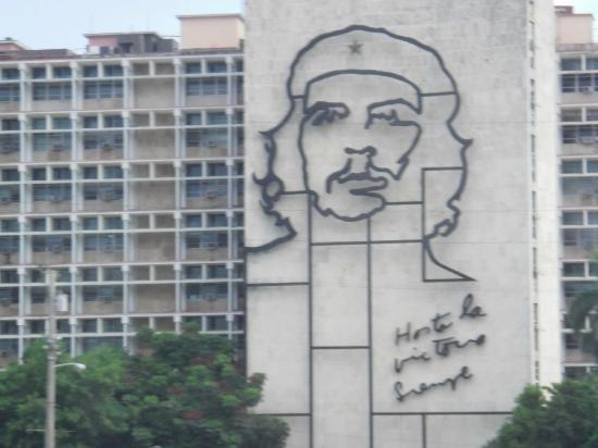 IBEROSTAR Laguna Azul: Che Guevara murial