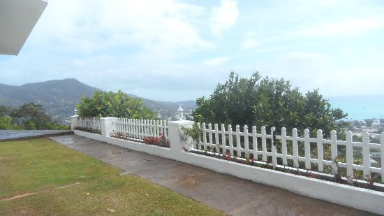 Le Sans Souci Guesthouse: Vue de la terrasse