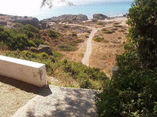 Hotel Petalida: l'accesso alla spiaggia
