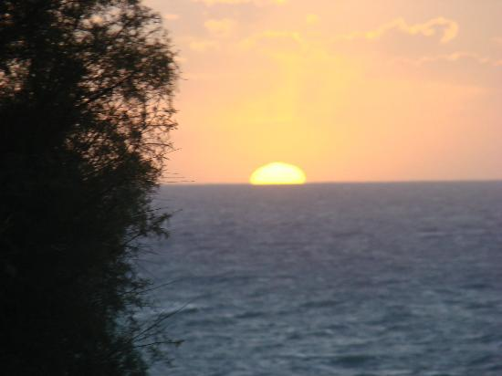 A Domo Mia: Sunset from terace