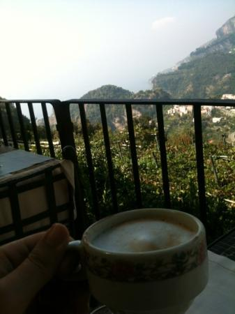 Villa Maria Hotel: breakfast with a great view!