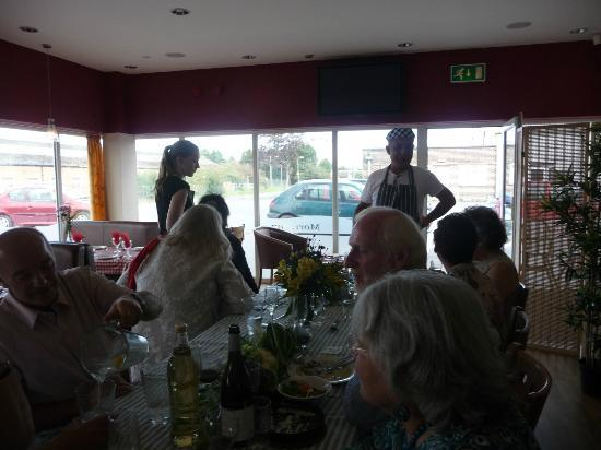 Mediterrane Restaurant: The wonderful Ali
