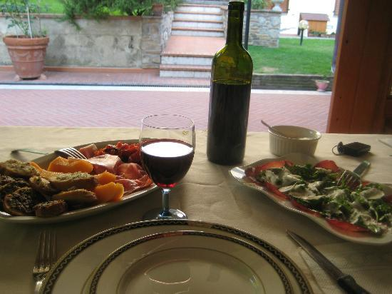 Elda Country House: Elda's great antipasti