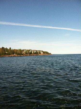 Bluefin Bay on Lake Superior : view of our condo