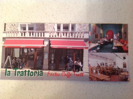 La Trattoria: the postcard