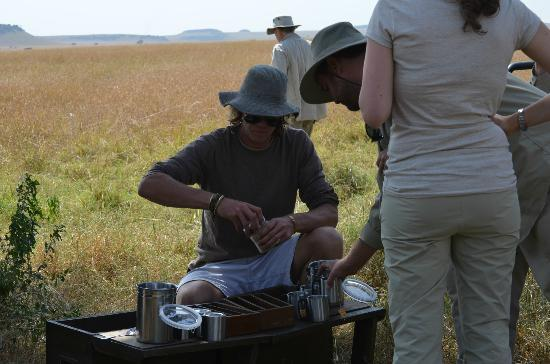 Kampi Kampi Serengeti: tea in the bush