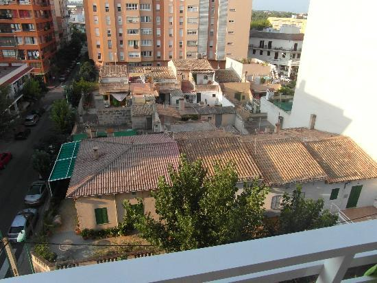 Hotel Pinero Tal: Vue sur les ruines