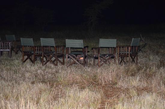 Kampi Kampi Serengeti: campfire
