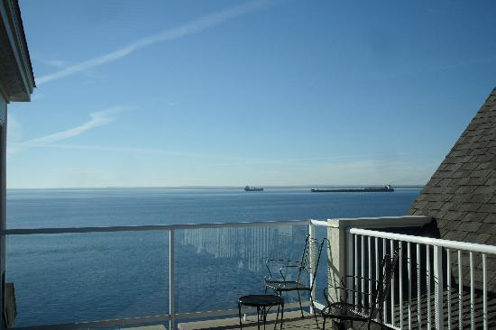 Beacon Pointe Resort : View from private patio