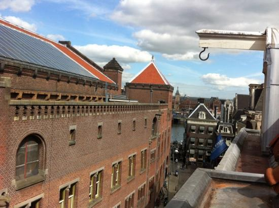 XO Hotels City Centre Amsterdam: vista do quarto 4 andar