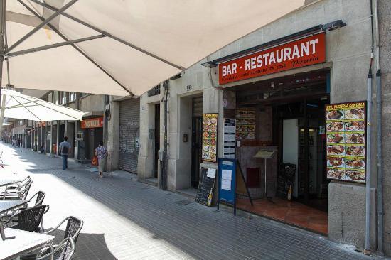 โรงแรมอาซุล บาร์เซโลน่า: bar Candela