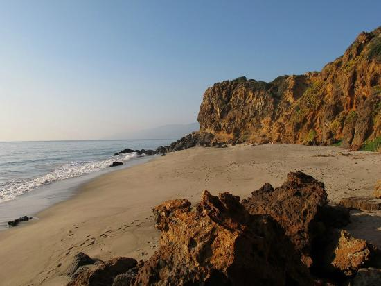 Westward Beach (this area known as Pirate's Cove)