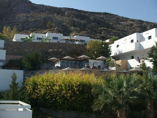 Lindos Gardens Resort Complex: Infinity pool area