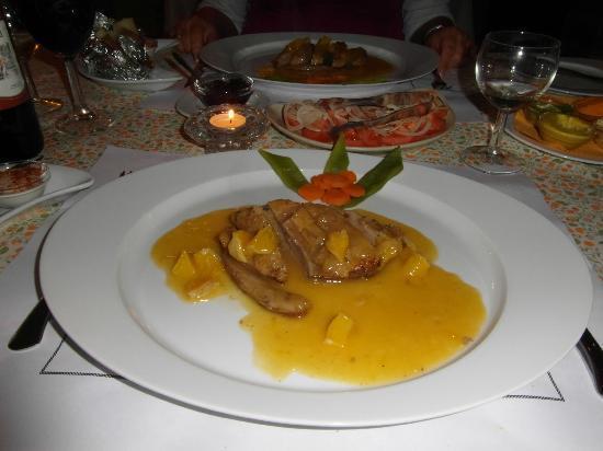 فيلا ميا: Das Essen ist einfach phantastisch... 