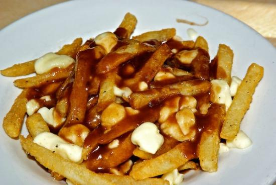 Canadian Princess Lodge: Yummy poutine
