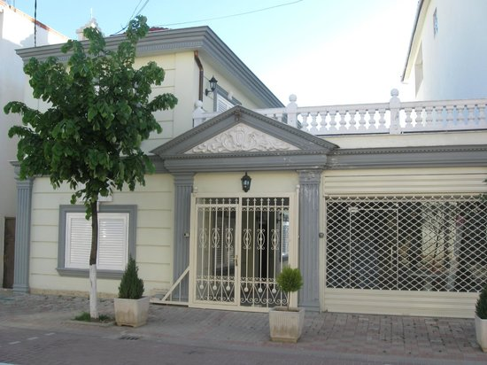 Pogradec, Albania: one of the last houses before get to the hill